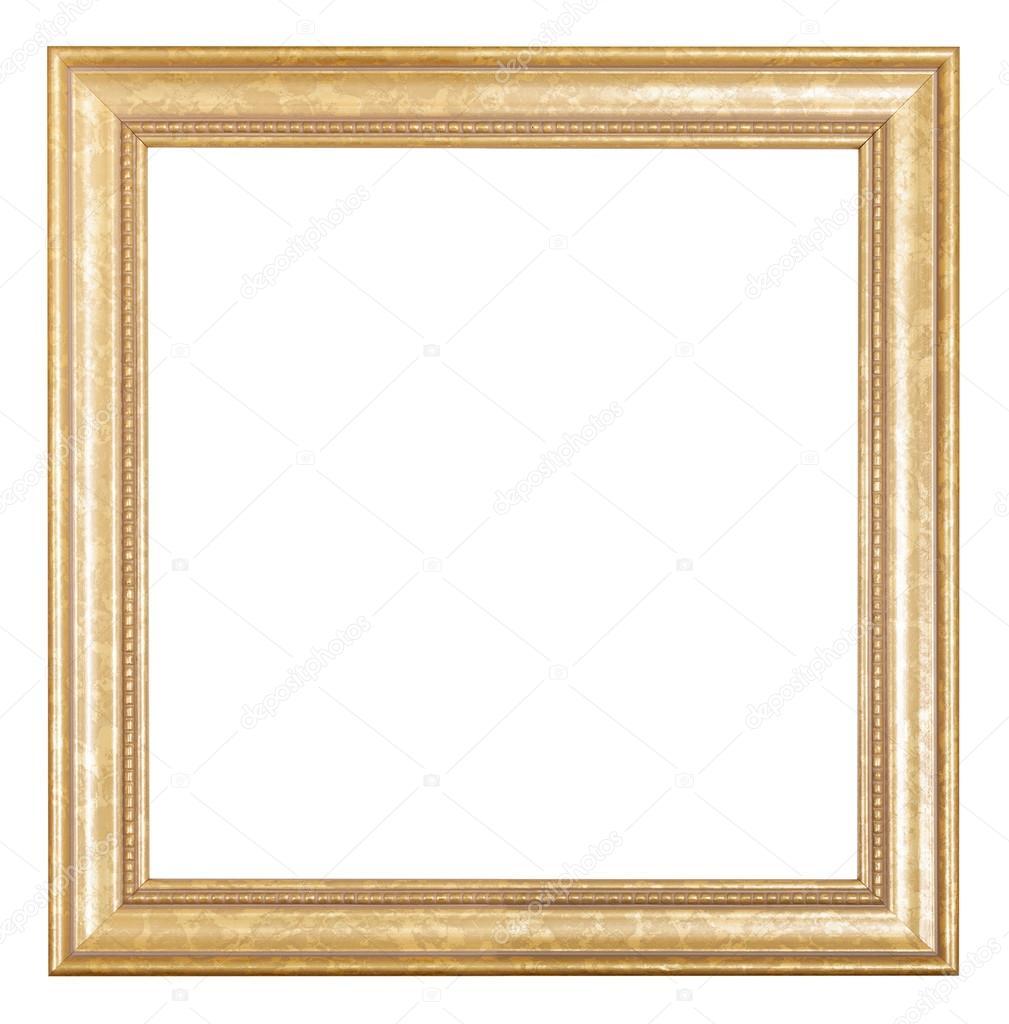 carr cadre dor photo en bois photographie vvoennyy 79612668. Black Bedroom Furniture Sets. Home Design Ideas