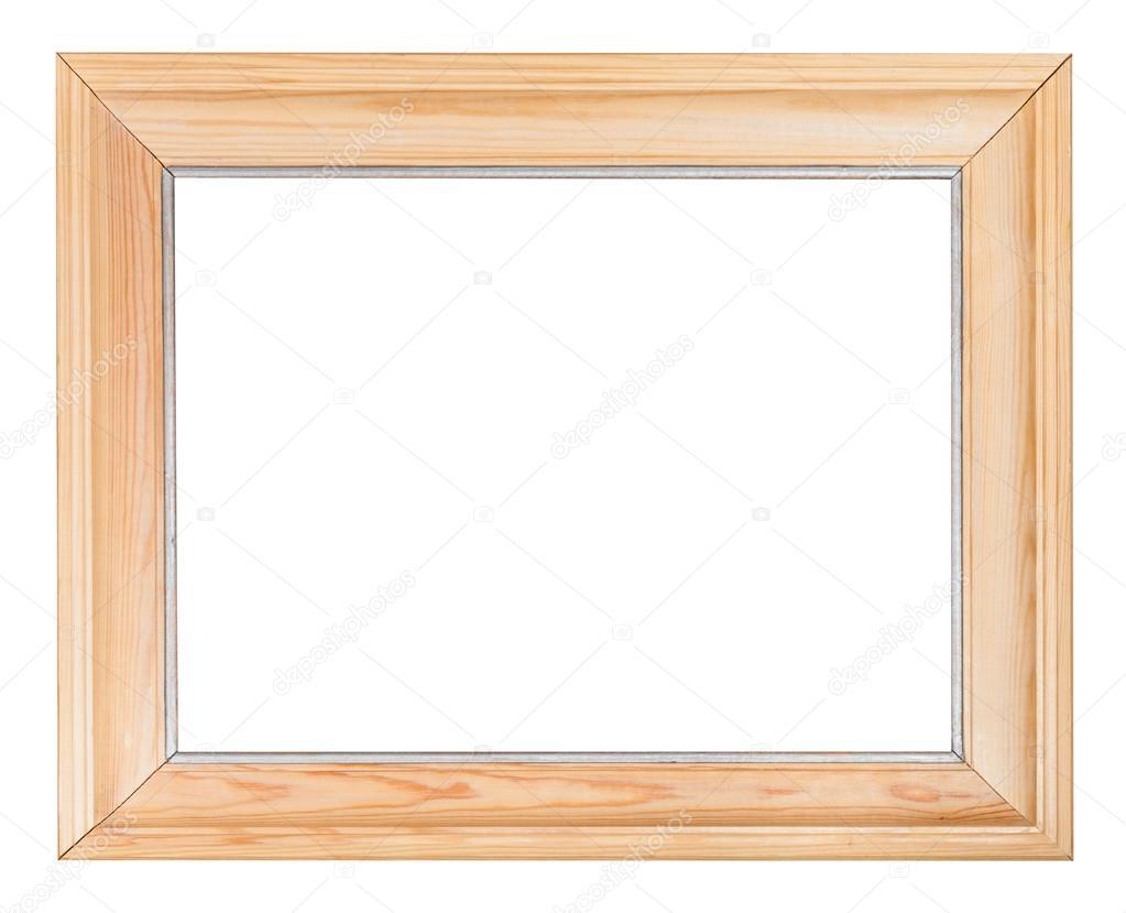 넓은 간단한 나무 액자 — 스톡 사진 © vvoennyy #79612694