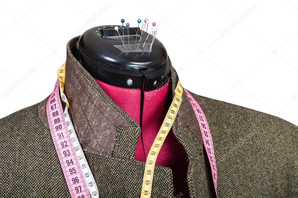 De De De Adaptation Homme Tweed La En En En En Veste Sur Mannequin TwwRSdq