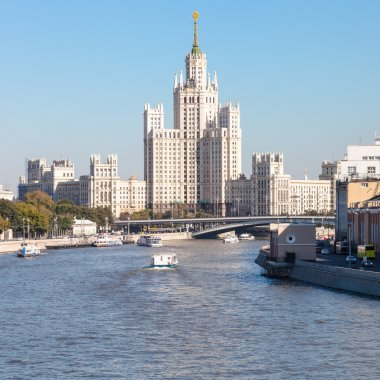 Kotelnicheskaya Embankment Building in Moscow