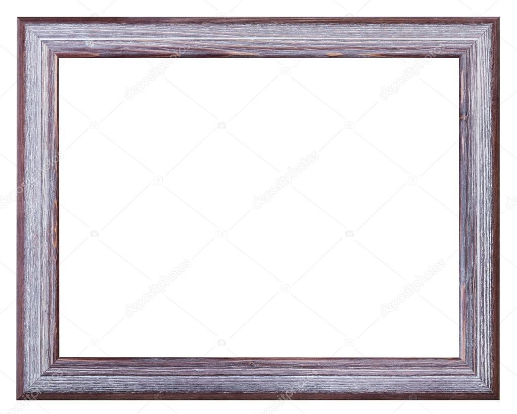 plata y violeta pintan marco ancho de madera — Fotos de Stock ...