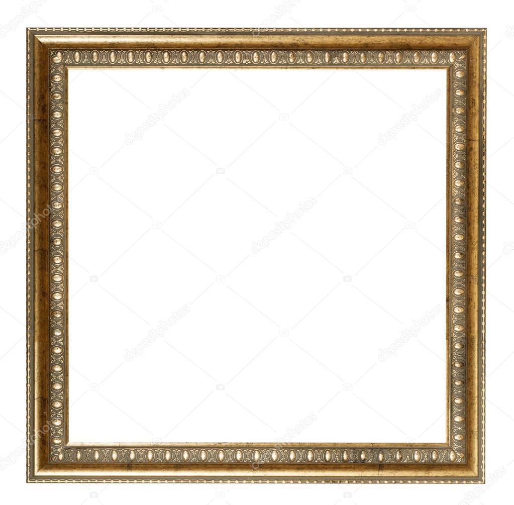 cadre photo en bois dor style baroque carr e. Black Bedroom Furniture Sets. Home Design Ideas