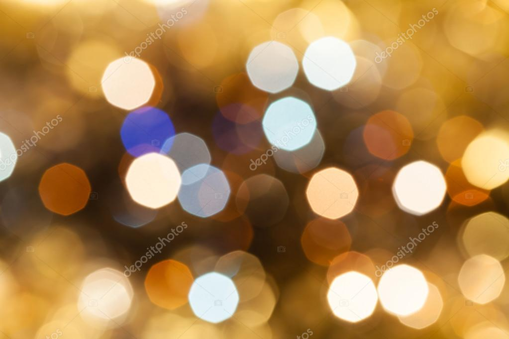 blue pink brow blurred shimmering Christmas lights