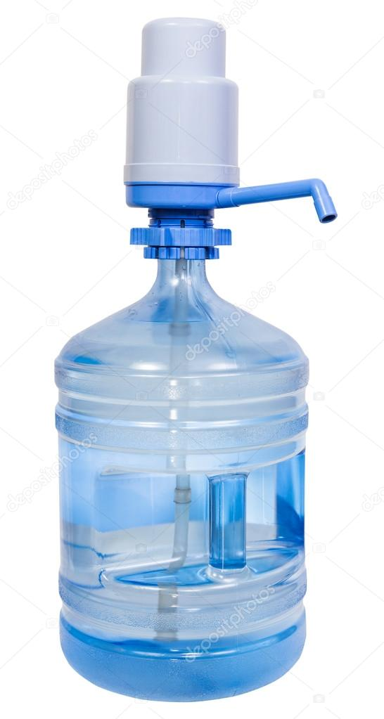 Pump Dispenser On 5 Gallon Drinking Water Bottle Stock Photo C Vvoennyy 90567322