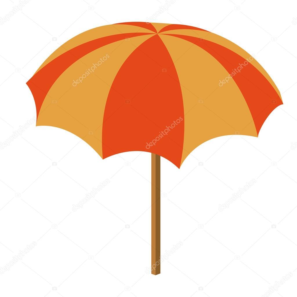 Parasol de plage isol e dessin ic ne image vectorielle grgroupstock 118994440 - Dessin parasol ...