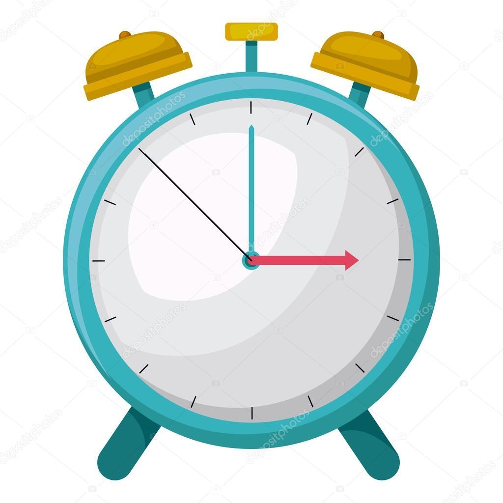 Tiempo de alarma de reloj dibujo icono aislado archivo for El tiempo en st hilari sacalm
