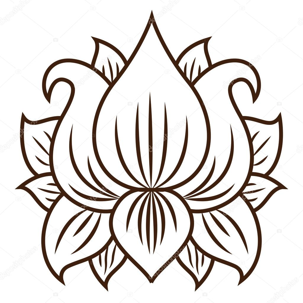 Isolated lotus flower design stock vector grgroupstock 123669164 isolated lotus flower design stock vector izmirmasajfo
