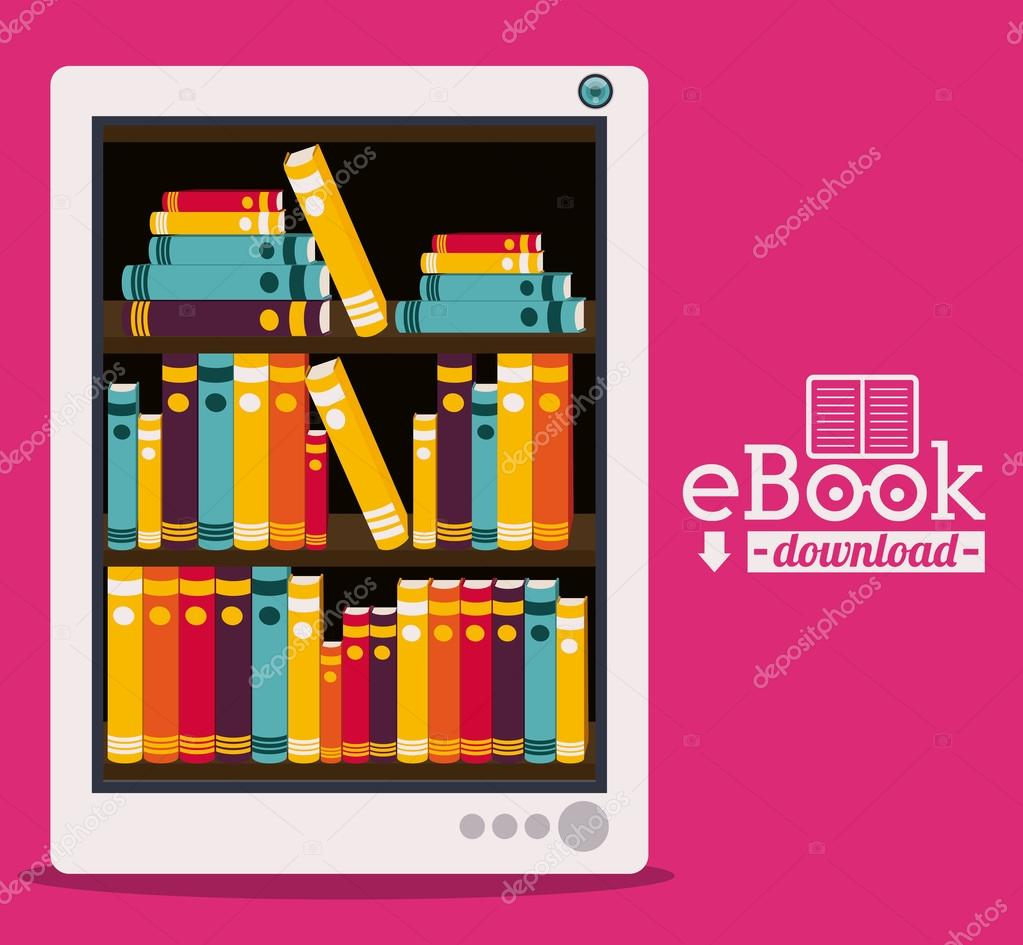 diseño del iBook — Vector de stock © grgroupstock #57472219