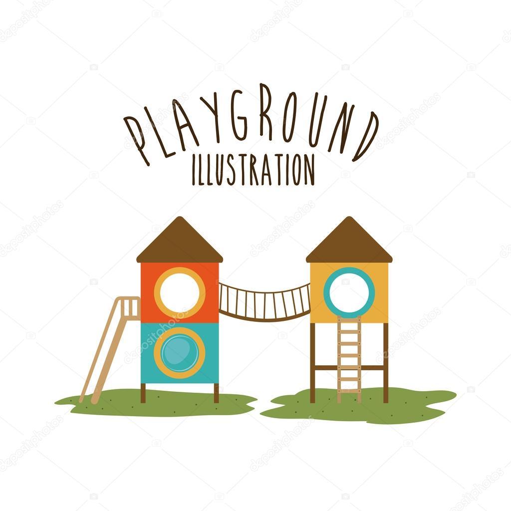 Diseno De Juegos Infantiles Ilustracion Vectorial Vector De Stock