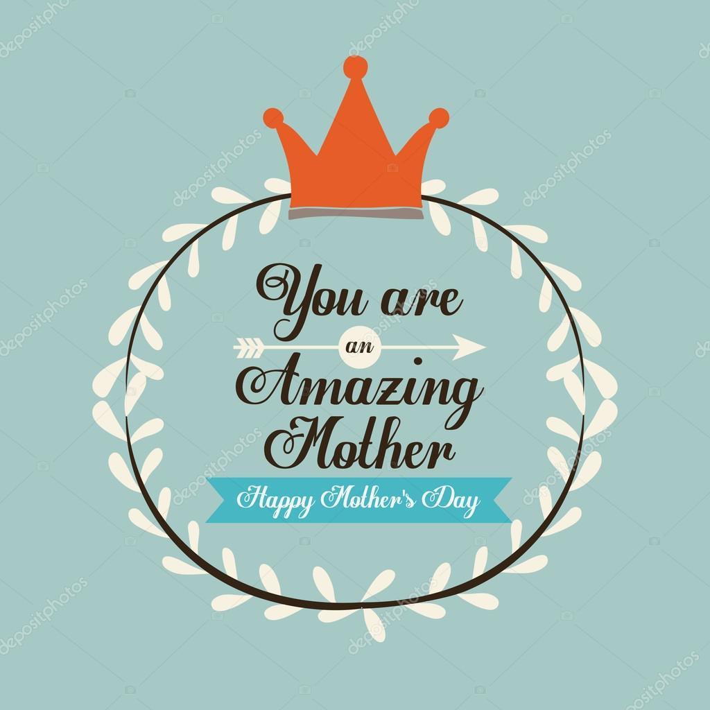 happy mothers day design u2014 stock vector grgroupstock 67260241