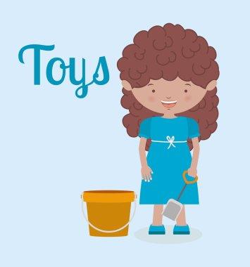 toys kids , vector illustration