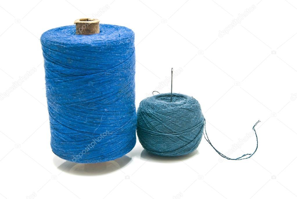 ball of yarn and spool of thread stock photo biggimot 68756663