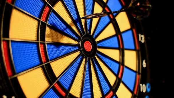 Dart Game Kant Stockvideo C Thomaseder 96985462