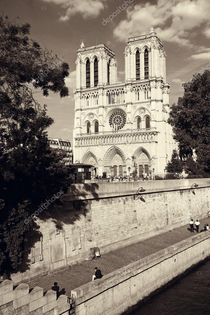 Cathedral Notre Dame De Paris Stock Photo C Ermolenko