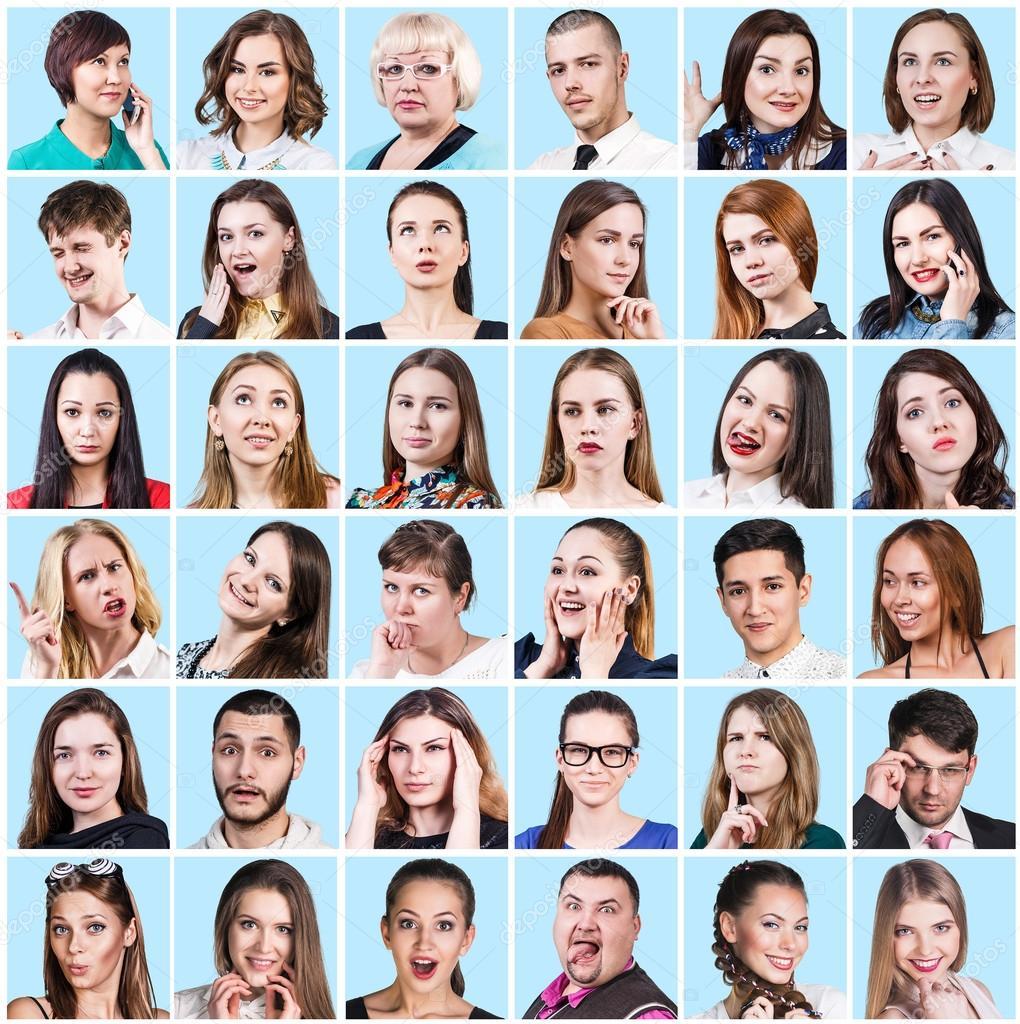 Personas Que Expresan Diferentes Emociones Fotos De Stock Kotin