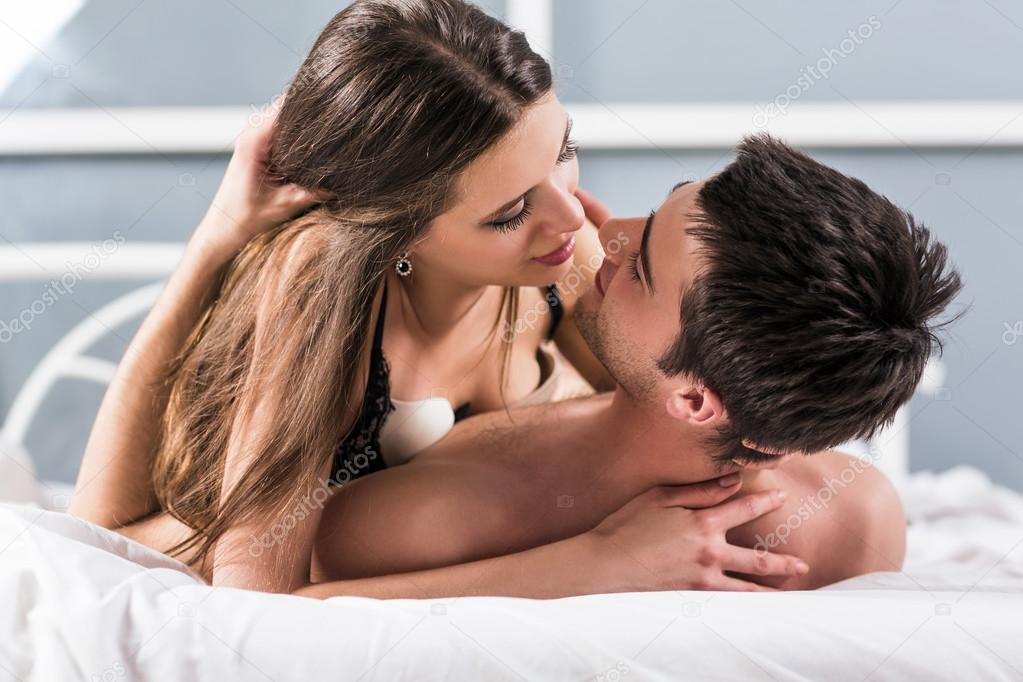 romantic sex and kiss