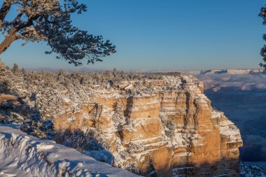 Grand Canyon Winter Snow