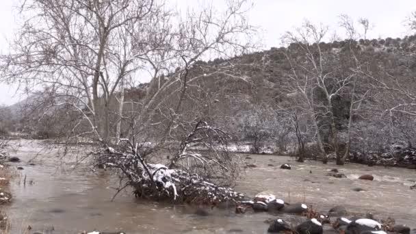 Záplavy na Stream v zimě