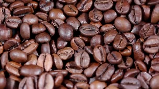 Coffee grains in rotation