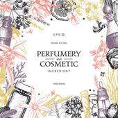 Fotografie design for cosmetics and perfumery
