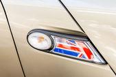 Fotografie Großbritannien-Flagge als Dekoration für das Auto Licht