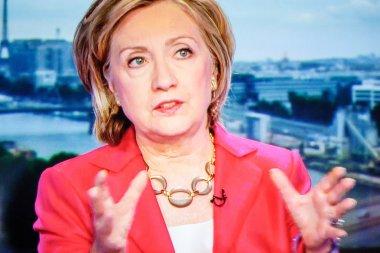 Hilary Clinton on TV