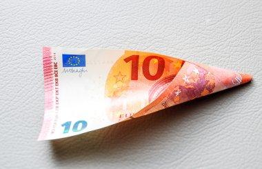 Ten Euro paper currency