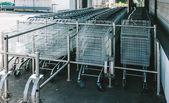 Fotografie Nákupní košík supermarket čekání