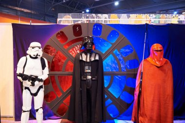 Star Wars fictional characters including Darth Wader c