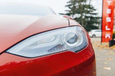 Tesla Model S electric car zero emissions