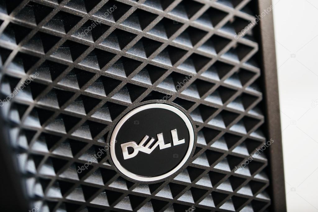 ワークステーション コンピューターの dell コンピューターのロゴ