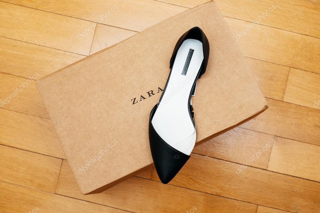 En Cartón De Zapatos Zara Caja Colocan FJ3uK1lcT