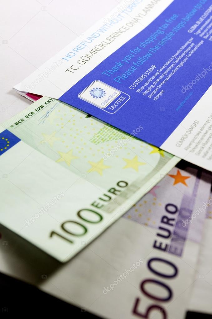 TAx Free envelope with thousands of eur
