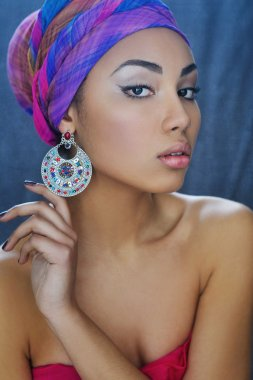 Young African beauty