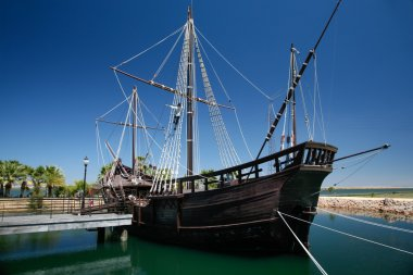 boat of Christopher Columbus
