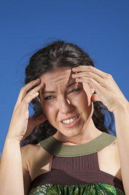 headache woman