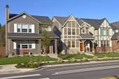 Řada nových domů v Willsonville Oregon