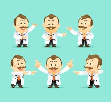 Cartoon Doctor set