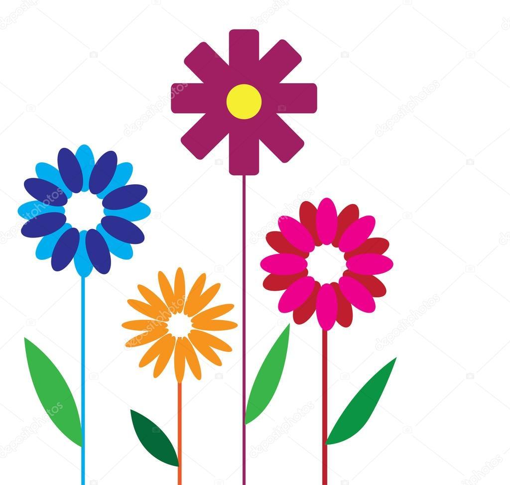 花デザイン イラスト ストックベクター Joinanita 106941768