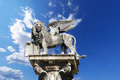 Photo Winged St Mark Lion in Verona - Italy