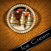 Fotografie Ice Cream Menu
