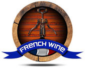 Photo French Wine - Wooden Icon