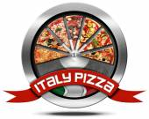 Fotografia Pizza Italia - icona di metallo