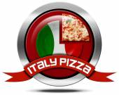 Pizza Italia - icona di metallo