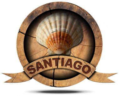 Santiago de Compostela - Pilgrimage Symbol