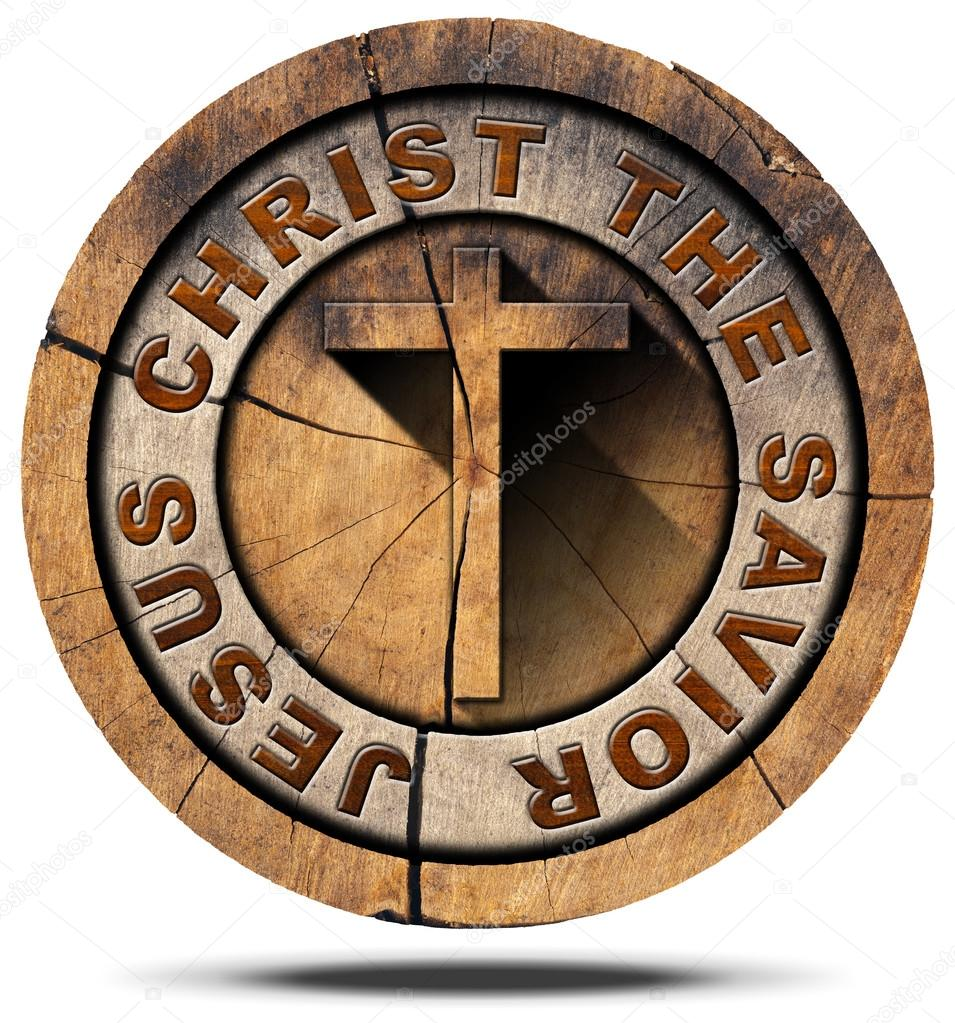 Jesus christ the savior wooden symbol stock photo catalby jesus christ the savior wooden symbol stock photo biocorpaavc Image collections