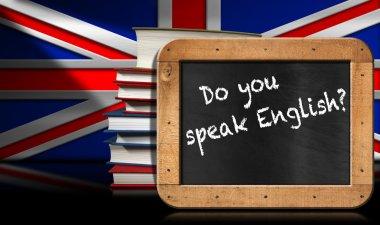 Do You Speak English - Blackboard and Books