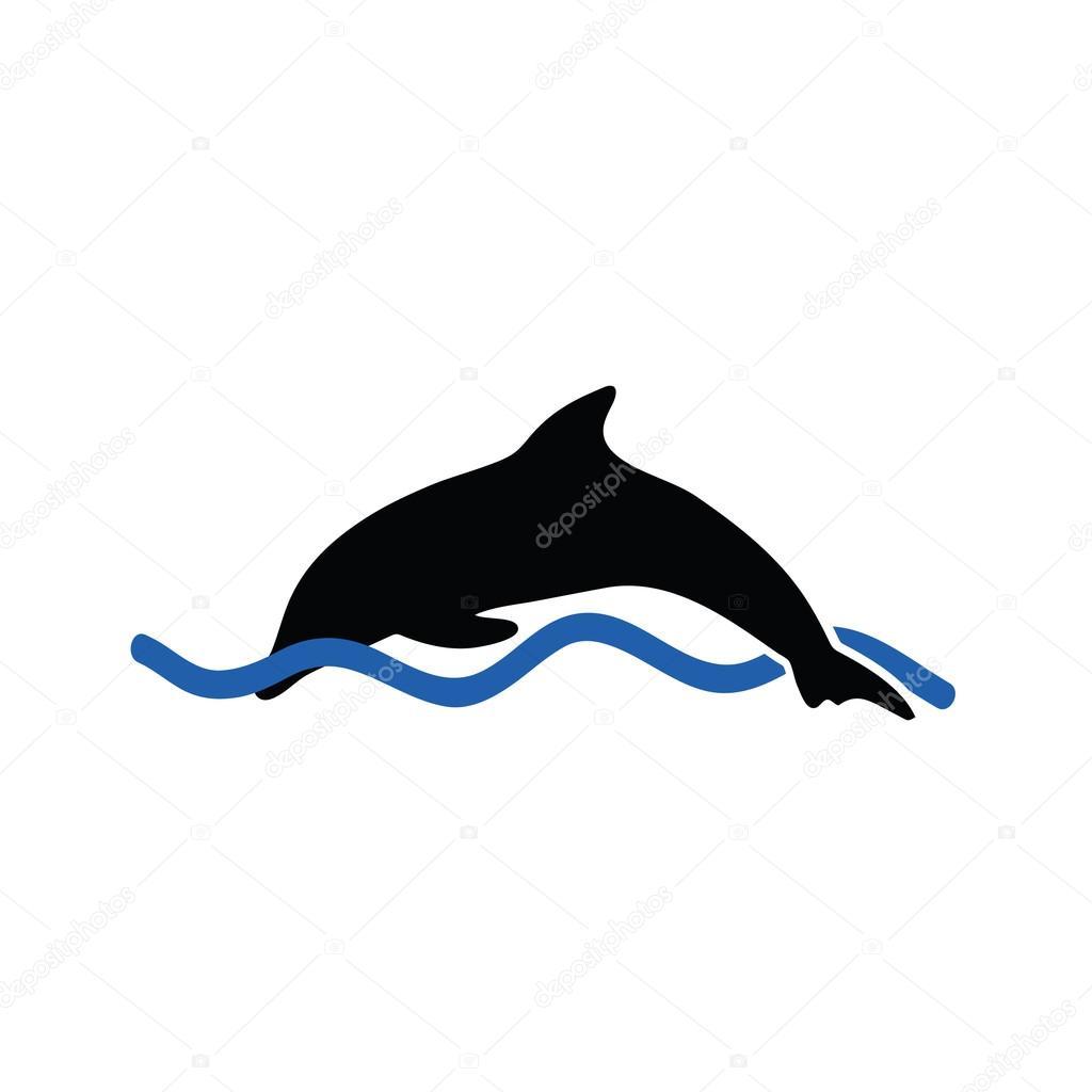 dolphin color vector — Stock Vector © drgaga #61292433