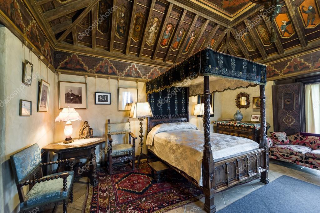 Californië usa jun 2013 mooie luxueuze slaapkamer met inctricate