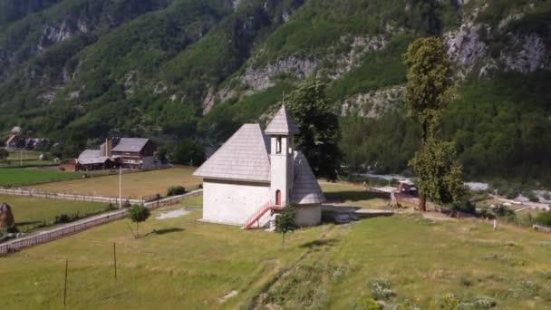Beautiful Theth Valley, Thethi in the Albanian Alps of Albania